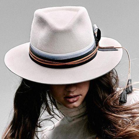 84c6a1ae566979 NATALIA BAQUERO Cordillera Fedora Hat in White in 2019 | MY LAURA