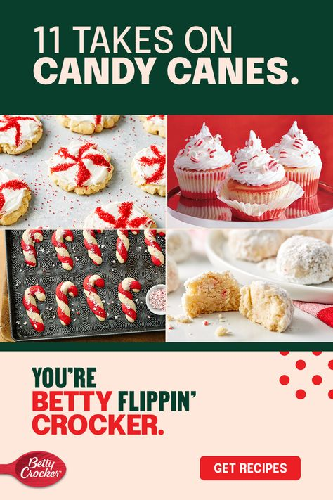 It's never too early to break out your favorite cheerful baking ingredient. Candy canes are a classic Christmas candy, but the peppermint treat is also a versatile flavor for cakes, cookies, cupcakes, and even fudge. Check out these candy cane dessert recipes for a fun new twist on the expected.