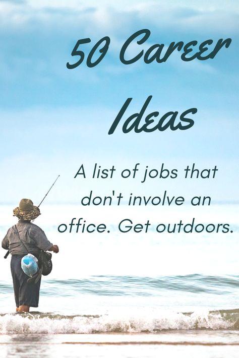 50 Career Change Ideas