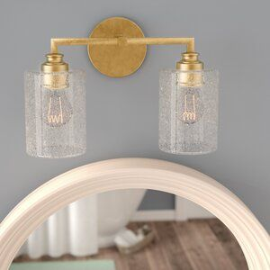 Tapered Spike Bath Sconce Sconces Gold Bathroom Fixtures Contemporary Wall Sconces