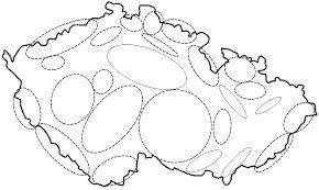 Vysledek Obrazku Pro Slepa Mapa Ceske Republiky Pohori Pohori
