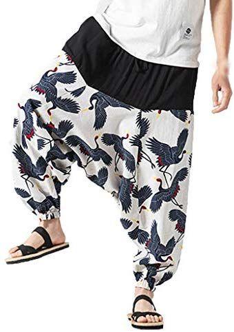 Alueeu Pantalones Para Hombre Diseno Hippie Estampado Divertido Estilo Retro Con Flores R Estilo De Ropa Hombre Pantalones Para Hombre Pantalones Hippies