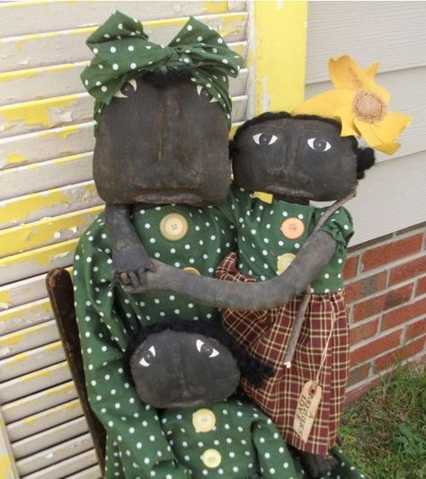 Just relisted Primitive Mammy A Mother's Love and Babies by Rabbithollowprims, $175.00