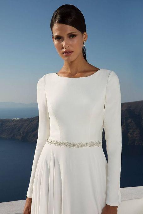 88027 Armelhochzeitskleider Couture Brautkleider Brautkleider Mit Armel