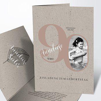 Einladungskarten 90 Geburtstag Selbst Gestalten Einladung Geburtstag Geburtstag Tischdeko Geburtstag 60