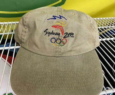 Sydney 2000 Olympics Hat Cap Adjustable Strap Back Olympic Dad Hat Ebay Dad Hats Hats Hats Vintage