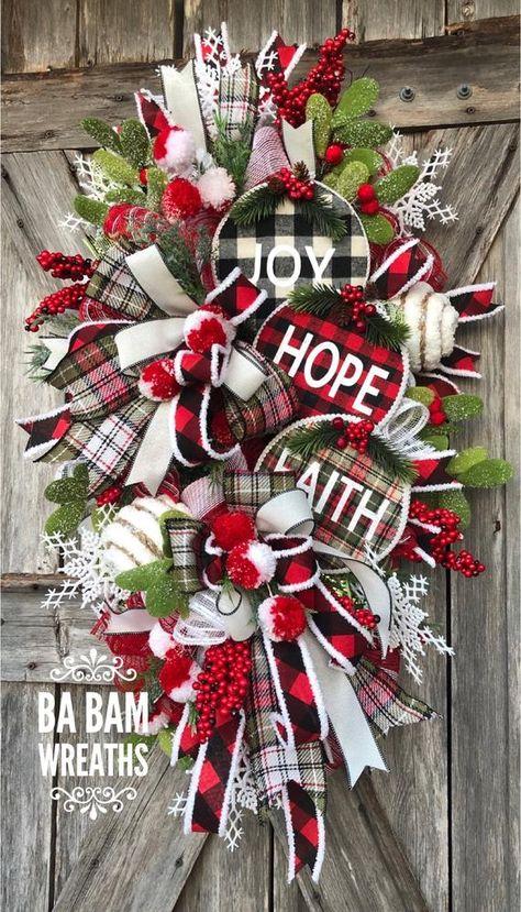 80 Christmas Swag Ideas In 2020 Christmas Swags Christmas Wreaths Christmas