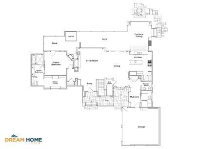 Discover The Floor Plan For Hgtv Dream