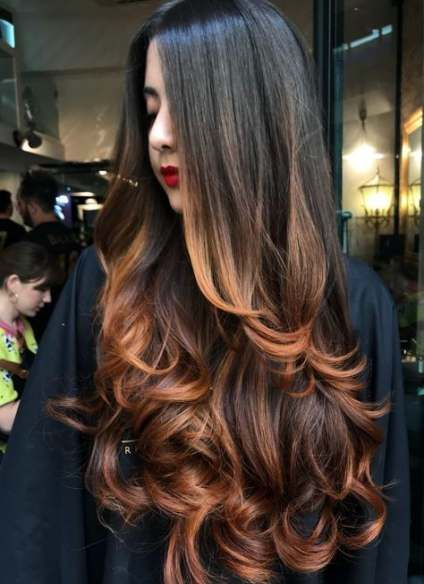 16 Trendy Haircut Capas Largas Perfect Hair Color Thick Hair Styles Long Hair Styles