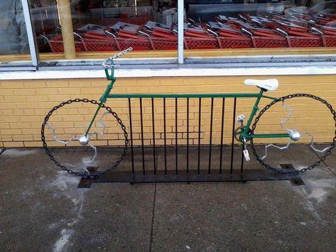 /creativo artigianale metallo ornamento/ ciclista scultura/ /Great gift per ciclisti