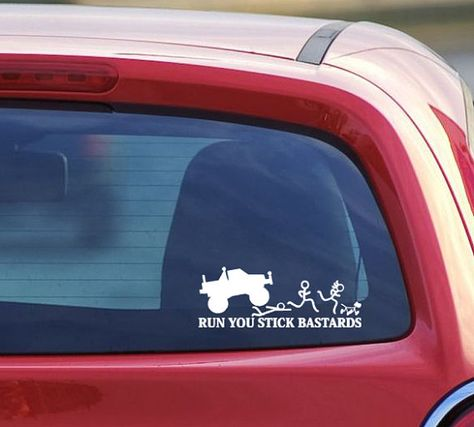 Just Divorced Car Vinyl Decal Position Open Funny Sticker Graphics