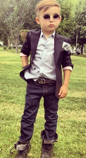 My baby boy will dress like this!