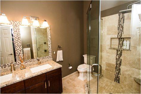 Bathroom Design Ideas Inspired By Photos Of Bathrooms From From Medium Sized Bathroom Designs