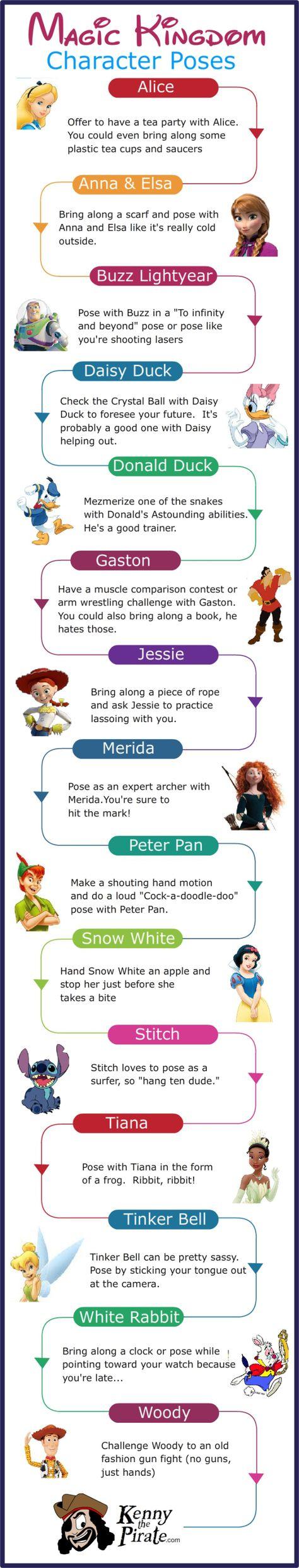 KennythePirate Poses for Magic Kingdom Disney World Character Photos