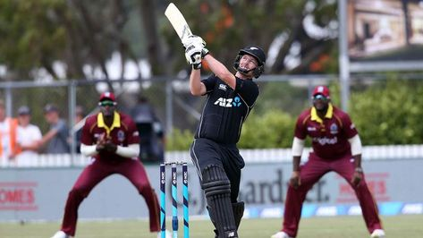 In first ODI match New Zealand team won the toss and selected bowling first. West Indies team played  bat first in this one-day match. West Indies player Chris Gayle and Evin Lewis came in opening position.  Evin Lewis well played and made 76 runs