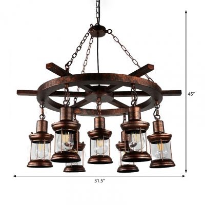 Nautical Pendant Chandelier Metal Hanging Ceiling Lights With Adjustable Chain For Restaurant In 2020 Ceiling Lights Hanging Ceiling Lights Pendant Chandelier