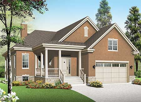 Plan 22352dr 3 Bedroom Baby Boomer Home Plan In 2020 Craftsman Style House Plans Cottage House Plans Country Style House Plans