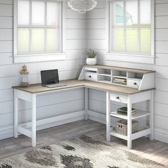 25+ White modern farmhouse desk most popular