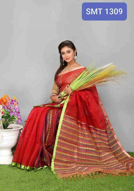 Tangail Moslin Saree-SMT- 1309 - SFH  Best online shop in Bangladesh. Best value for money. Price: 6000 &   #sexymaxidresses #dresses #fashion #hijabstyle2018 #sexyplussizedresses #yellowclothing #easyfashion #designerdresses #fashiondesigner #sweater #saree #jamdanisaree #sari #katansaree #designersaree #silksarees #sharee