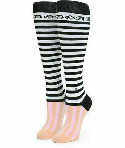 Stance Rihanna Fenty Black Pink Green Candy Bars Tall Boot Womens Socks One Size