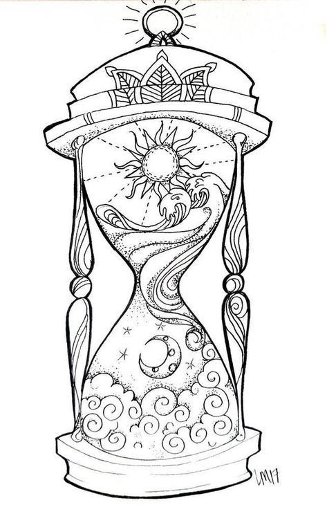 Day into night, night into day. Time is relative. I think about time on a deeper level, as more of a metamorphosis, rather then a start and a finish. My hour glass represents that thought. Maybe it has a different meaning to you. Either way, its a cool design and would look great framed