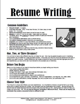 resume worksheets for students - Google Search Employment Skills - resume for students