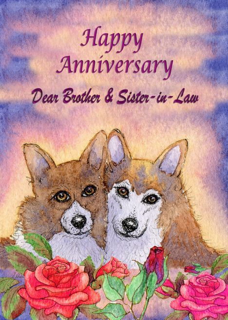 Happy Anniversary Brother Sister In Law Dog Card Married Couple Card Ad Affiliate Happy Anniversary Sister Happy Anniversary Happy Anniversary Wishes