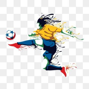 Football Football Cartoon Cartoon Football Soccer Player Athlete Physical Sports Player Png And Vector With Transparent Background For Free Download In 2020 Football Player Drawing Football Illustration American Football Players