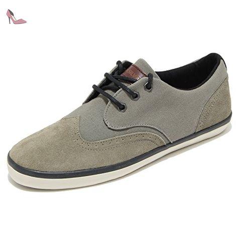 quikArgent EMERSON 44 WINGTIP chaussures basses homme 44 EMERSON Chaussures eca520