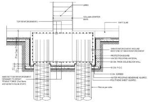 Pile Cap Reinforcement Drawing The Structural Worldsearchsearch Cap Designs Construction Design Civil Engineering Design