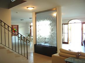 Wall Waterfall Fountains Indoor With Images Indoor Wall