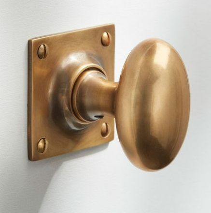 Polished Brass Project Victorian Mortice Door Knob