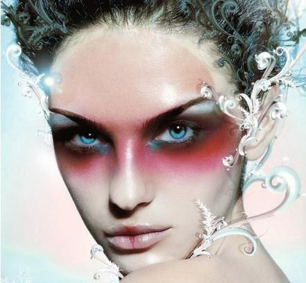 Image detail for -Frosty High Fashion Fantasy Makeup Beauty Tips - flex well küchen