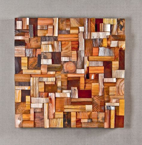 Art from wood scraps