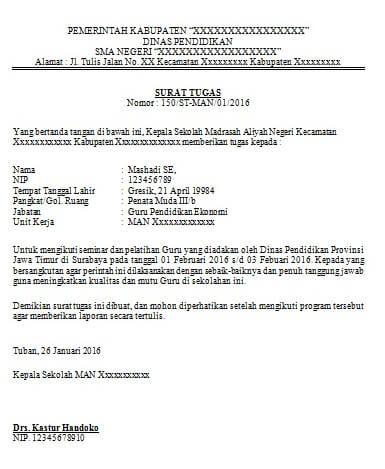 Pin Di Contoh Surat Indonesia