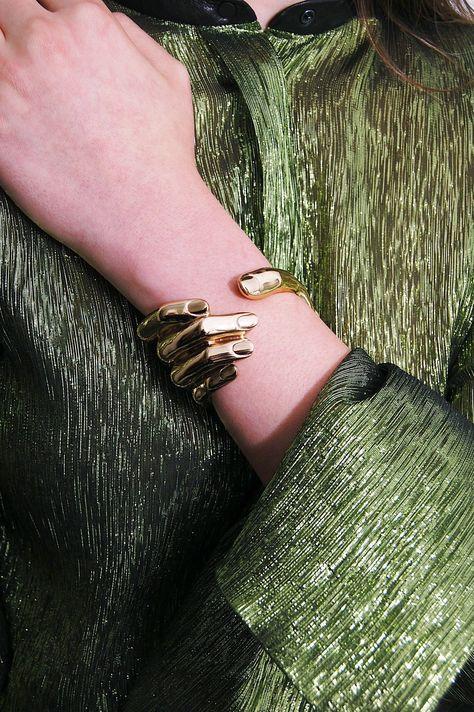 Bernard Delettrez Bronze Hand Cuff Bracelet - Curio Concept Store
