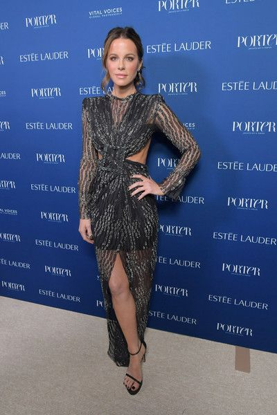 Kate Beckinsale attends the PORTER Incredible Women Gala 2018.