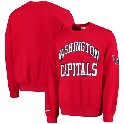 Washington Capitals Mitchell & Ness Start of the Season Tailored