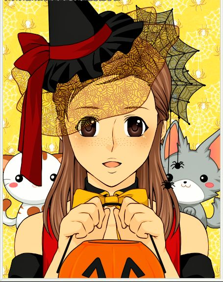 This is legit me on halloween  go on rinmaru anime avatar creator if you  want. 8 best My manga art images on Pinterest   Manga art  Chang e 3 and