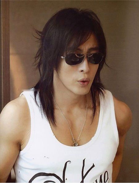 25 Beliebte Manner Lange Asiatische Haare Frisuren Halblang Cheveux Asiatique Coiffure Homme Cheveux Masculins