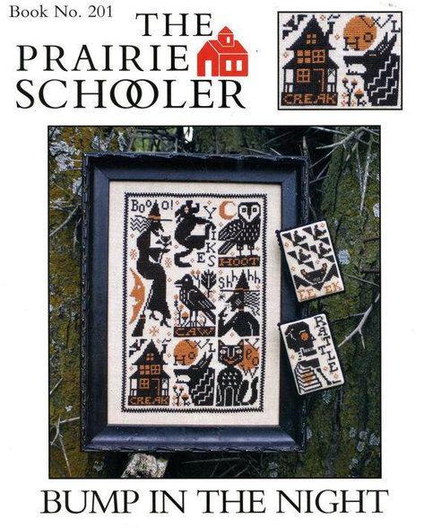Prairie Schooler Retired Bump In The Night Cross Stitch Chart