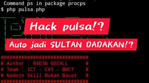 Cara Hack Pulsa Untuk Mendapatkan Pulsa Gratis 2020 Membaca Aplikasi Linux