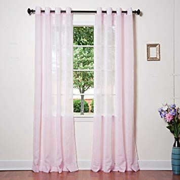 Crushed Voile Sheer Curtains In 2020 Sheer Curtains Curtains