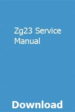 Zg23 Service Manual Study Guide Online Study Values Education