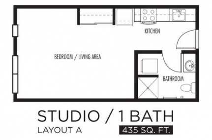 26 Super Ideas For Apartment Floor Plan Student Studio Floor Plans Studio Apartment Floor Plans One Room Apartment