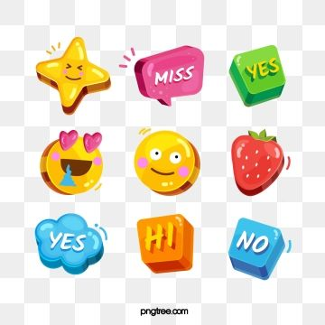Emoji Print Design Template Cartoon Expression Emoji Images