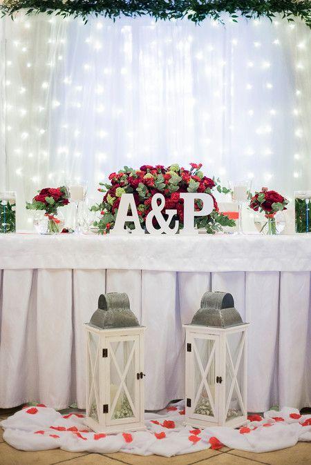 Dekoracja Sali Weselnej Jarzebina W Wilczycach Czerwone Roze Piekna Scianka Led Za Para Mloda Swiec Fun Wedding Invitations Wedding Deco Wedding Decorations