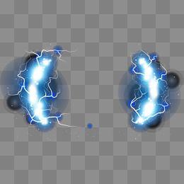 Blue Lightning Effect Blue Lightning Lightning Clip Art
