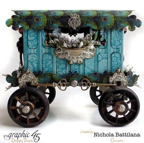 A Couture Caravan with Graphic 45 - Nichola Battilana