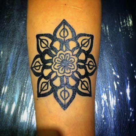 Temporal mandala!! #tattoo #tattoos #tattoostyle #tattoostudio #tattoomodel #tat...